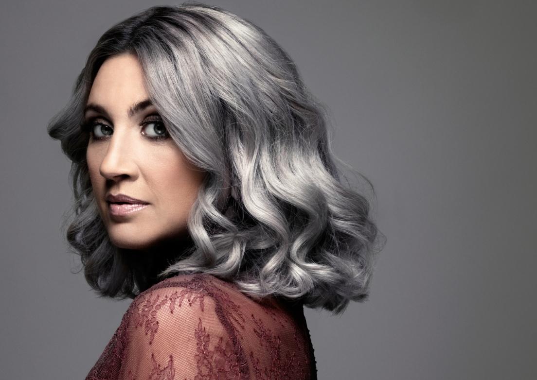grå färg hår
